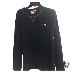Black Puma Long Sleeve Shirt